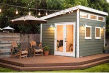 Salon shed