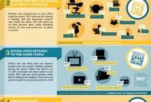Sports & Social Media Infographics