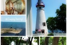 LakeErieLove Travel Spots in the Sandusky area / by Simply Sherryl