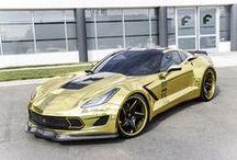 Golden Corvette