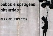 Lispector... / Escritora, pensadora...