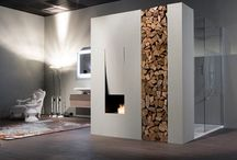 Fireplaces / by Victoria R