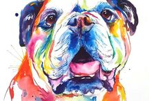 Bulldog art