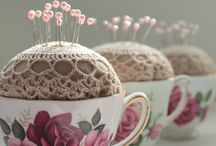 Ideas for vintage doilies and handkies. / What can be made using doilies and handkies