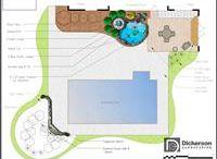 Water and pond design plans / Water and pond design landscape plans