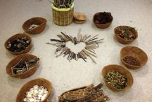 Loose parts play and natural resources