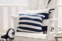 Nautical stripes / Nautical stripes .