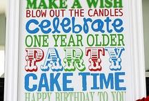 Birthday Time! / by Rachel