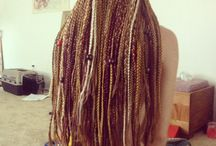 Dreads, braids, love