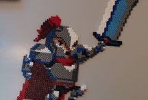 hama creations already done / those are my creations (or copy eh, those are hama beads, who am I kidding if i told that they all are originals. Thus, of course, some of them are )