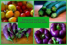 Plant Based Food for Health / Be healthy, slender and strong with plant based food.