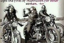 biking ladies