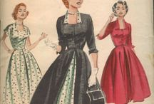 Fashions Over the Years / Want to stroll down fashion's Memory Lane? Remember the shirtwaist dresses we could buy for less than five dollars years ago? Then this is the board for you.