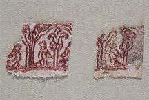 Stickereien, Verzierung 12. Jahrhundert