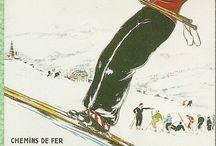 affiches ski