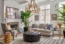 Plaid decor for interiors