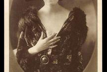 silent film make up!