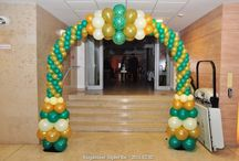 PartySarok - Balloon Decoration / University of Miskolc, Hungary