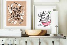 Küchen Dekoration