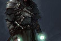 Dark Fantasy - Postacie