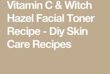 Recipe for skin toner