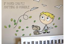 Wall stickers / Wall stickers for baby rooms