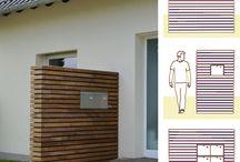Holz Außenanlagen +Metalldesign