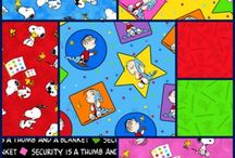 You're A Good Man Charlie Brown / Peanuts Fabric