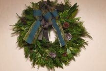 wreath / Wreath collection, my wife's hand made.