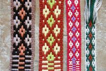 Pásy (Inkle weaving)