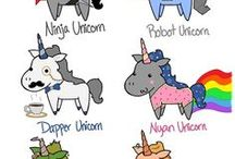 unicorns vs zombies.. go team!!! / by Cindy Young
