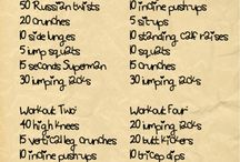 workouts / by Marrianne Williams