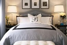 Master suite / Ideas for a hotel styled comfortable and relaxing master suite bedroom and bathroom.