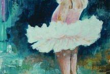 Válogatás festményeimből / Akvarell, akril, olaj festmények