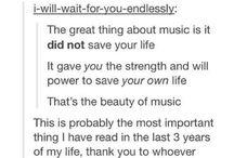 wise words and fun stuff / scrolling though tumblr