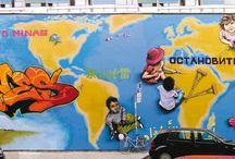 Graffiti Jazi Artwork / Graffiti, street art, characters, realism, letters, style, 2D, 3D, spray can, animals, landscape, background, pen, girls, dragon, Geneva, Switzerland, jazi,