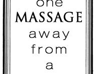Massage / The benefits of massage are numerous.  Here's what it is and what I love about it!