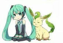 Vocaloid и Покемоны