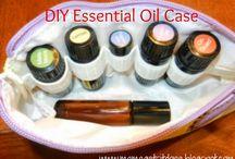 DIY essential oil case
