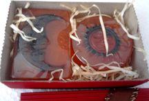 Sabonete Artesanal / Sabonete e Sais de Banho artesanal, modelo e fragrancia com embalagens para decorar e presentear
