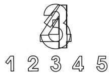 Обучение. Математика. Цифры