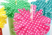 Polkadot Party theme  / polkadot , stippen,