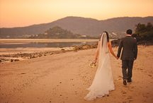 BEACH WEDDING / Surf, sand and sunshine... what's not to love about a beach wedding?