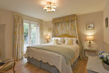 Bedrooms at the Luxury Dog Friendly Quantock Cottages Somerset England