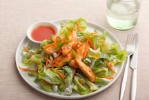 salads / by Donna Morbitzer-Thompson