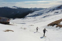 Ski touring or ski-mountaineering in Romania and Carpathians