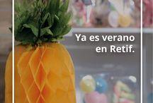Promociones Retif 2015 / Aprovecha las promociones y ventaajas de los productos de Retif en 2015.