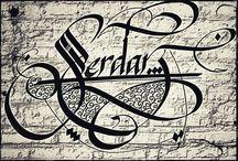 Calligraphy artis