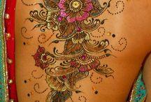 Glitter tatoos