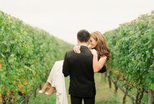 Esküvő - szőlő